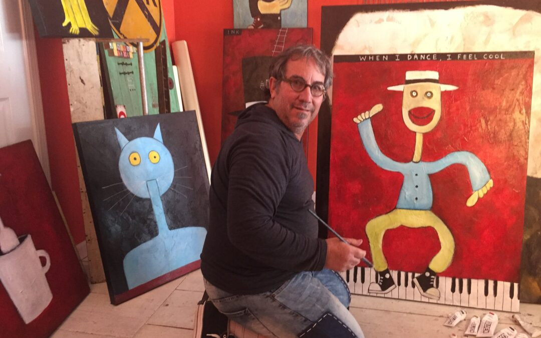 TIM WELDON PLAYS THE GAME OF ART WITHOUT ANY RULES