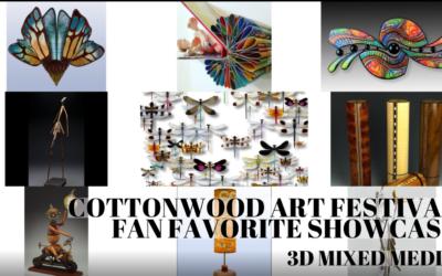 FAN FAVORITE SHOWCASE – 3D MIXED MEDIA ARTISTS
