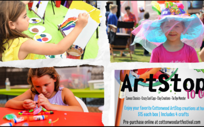 ARTSTOP TO-GO KITS INCLUDE FOUR CRAFTS