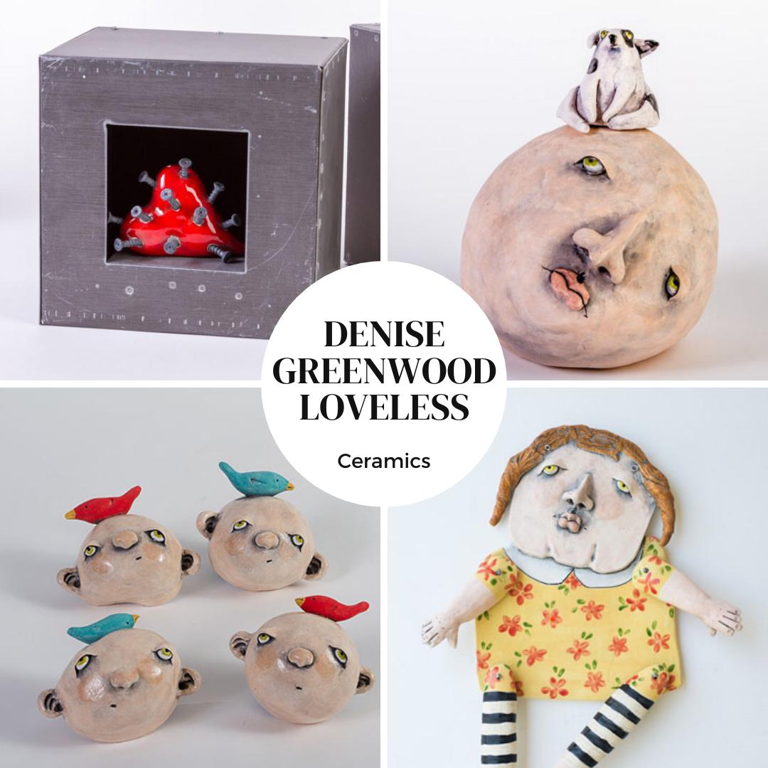 Denise Greenwood Loveless Art of Greenwood