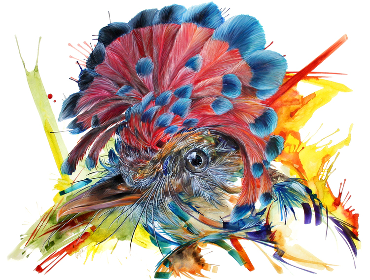 Sarah Janece Garcia Mardi Gras Bird